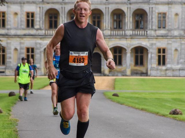 From Melita Photography, cruising past the Earl's gaff on the Salisbury 54321 marathon