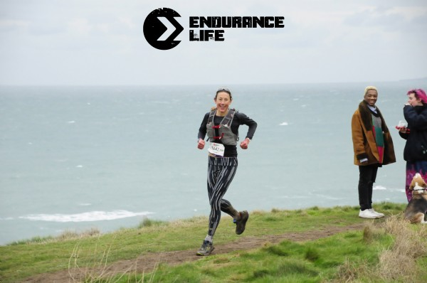 Chrissie Wellington OBE on her way to overall victory in the Ultra