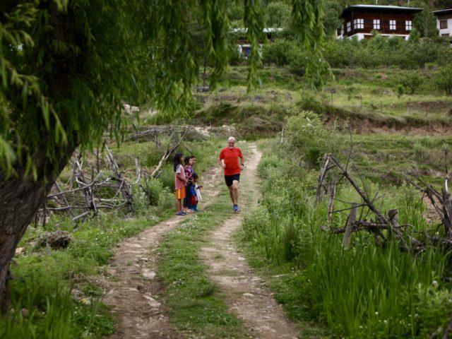 Bhutan 17 - Mike Training