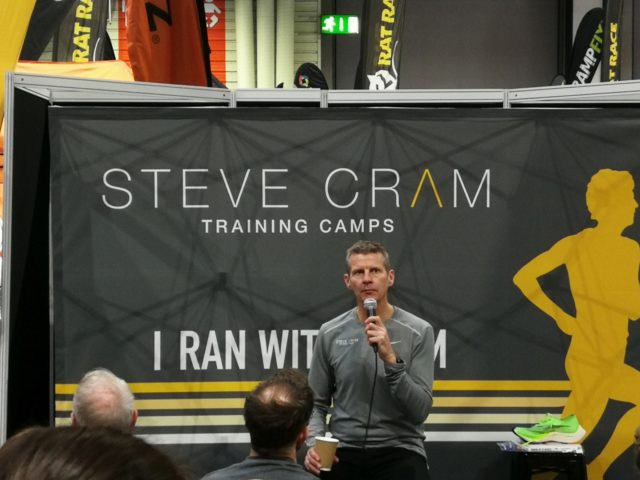 Steve Cram at the National Running Show 2020
