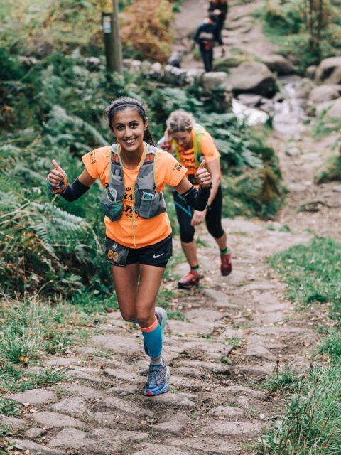 Peak X runners by Jim Baggaley